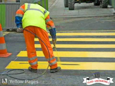 Class Line Painting -