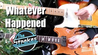 What Ever Happened - The Strokes ( Guitar Tab Tutorial & Cover )