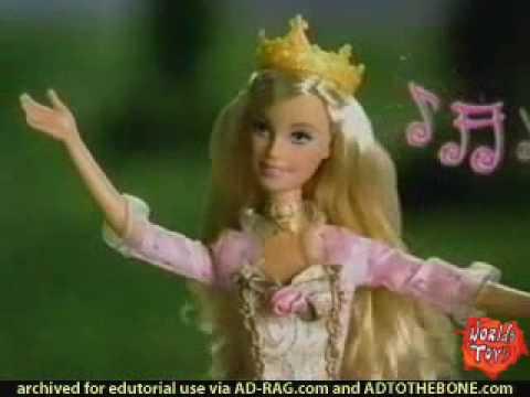 2004 º Barbie Princess and the pauper dolls commercial