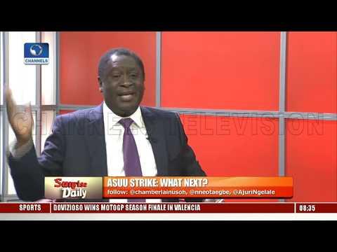 ASUU Strike: Babalakin,Prof Ogunyemi Seek Solution To Improving Nigeria's Education System Pt.2