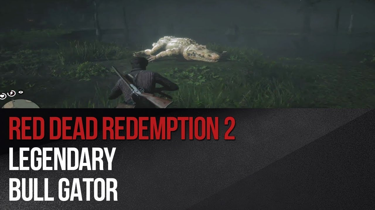 Legendary Bull Gator in Red Dead Redemption 2 - Red Dead