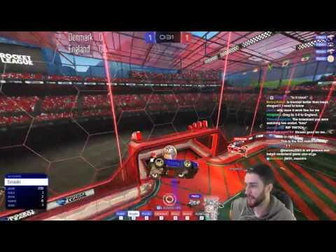 England vs Denmark   3v3 International Showmatch