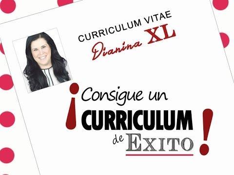 Como Hacer Un Buen Curriculum Vitae Formato De Curriculum De Exito