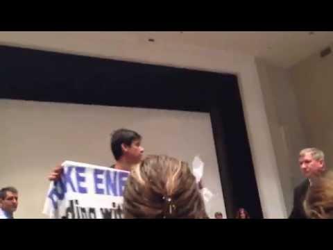Duke Energy CEO Lynn Good Protested for Blocking Solar!