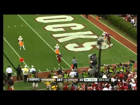 Ace Sanders vs LSU, Tennessee, Clemson & Michigan (2012)