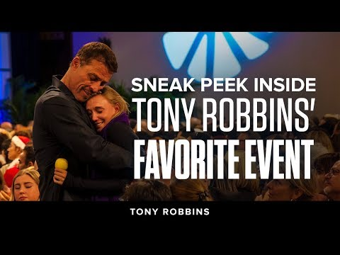 Sneak Peek Inside Tony Robbins' Favorite Event | Tony Robbins Podcast