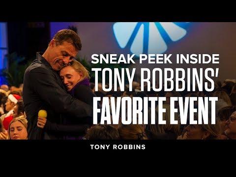Sneak Peek Inside Tony Robbins' Favorite Event | Tony Robbins Podcast