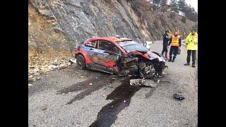 WRC Monte Carlo 2020: il crash di Tanak onboard