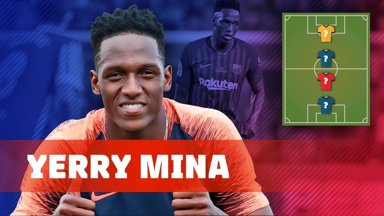 Yerry Mina My Top 4 Legends Youtube
