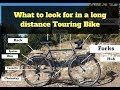 What to look for in a Touring Bike