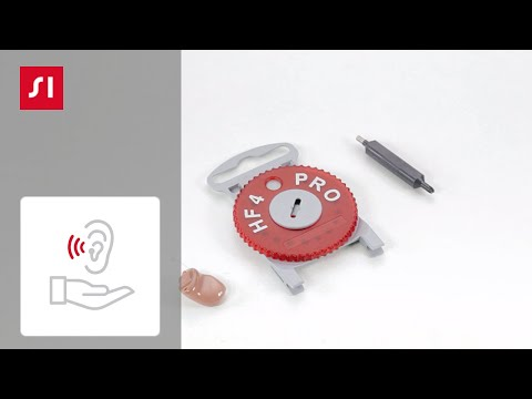 How to exchange a HF4 Pro on a custom hearing aid | Signia Hearing Aids