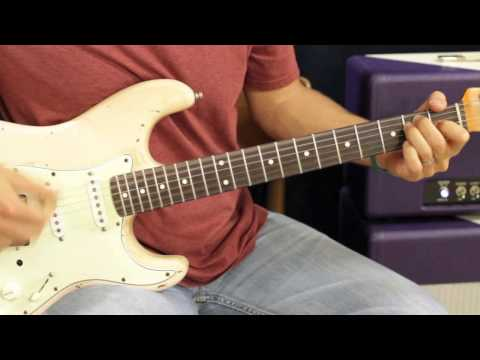 Neon Trees Everybody Talks - How To Play - GuitarLesson - EASY