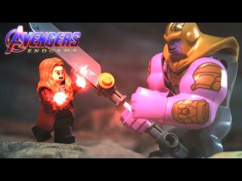 LEGO Avengers Endgame Final Battle Scarlet Witch VS Thanos