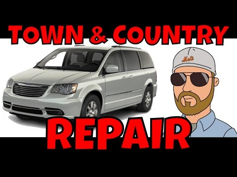 2009 Chrysler Town and Country Not Starting L25 R03 Recall FOB and WIN Module