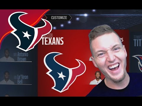 I SELL THE CLEVELAND BROWNS AND BUY THE HOUSTON TEXANS!! - Madden 17 Texans Connected Franchise #1