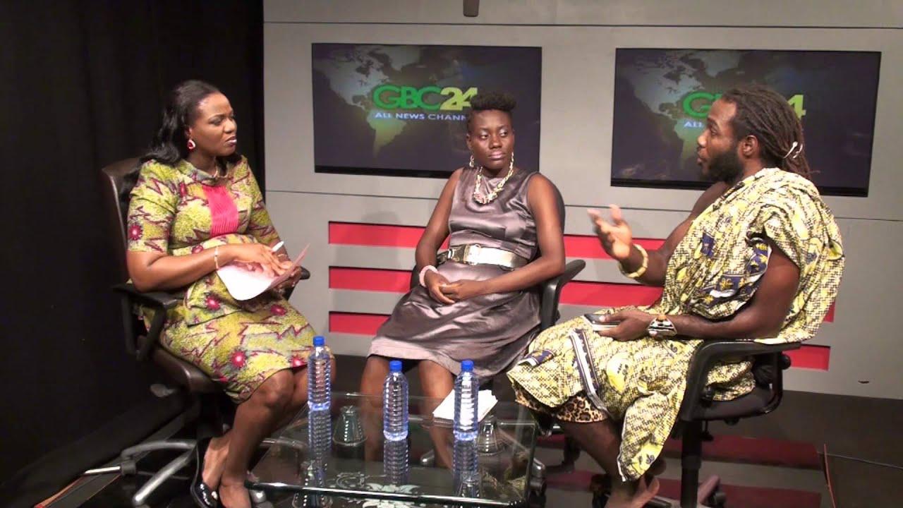 Dr Kambon discussing homeschooling in Ghana