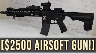 THE MOST EXPENSIVE AIRSOFT AEG IN THE WORLD?! | $2500 GBLS DAS!