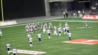 Alouettes vs Argonauts - 21 Novembre 2010 Finale de l