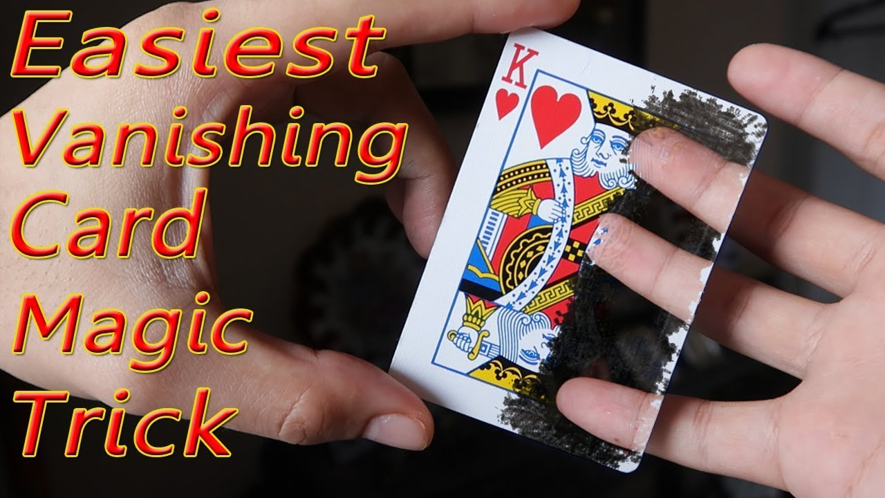 amaze your friends with this vanishing card tricks simple and easyamaze your friends with this vanishing card tricks simple and easy to do