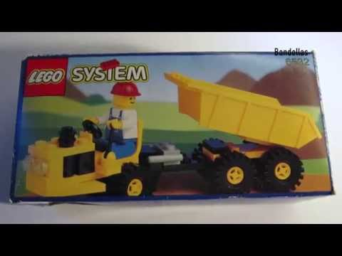 MUST SEE How to build LEGO 1991 set 6532 Diesel Dumper Stop Motion mindcraft