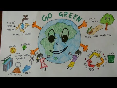Go Green World Environment Day Connecting People To Nature