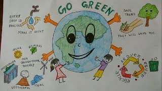 Go Green, World Environment Day - Connecting People to Nature.