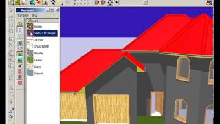 Строим дом в ArCon. Создание проекта частного дома. Часть 3