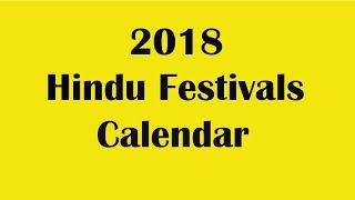 2018 Hindu Festivals Calendar 2018 Hindu Calendar 2018 Festivals date india Update Puja Date 2018