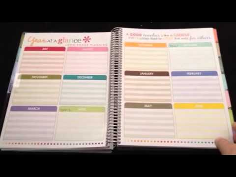 Erin Condren teacher lesson planner for college students