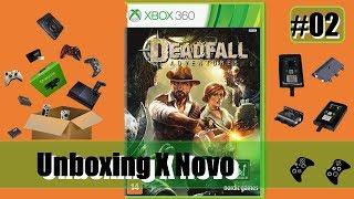 Unboxing de Novo (Case Hd Xbox 360/Bateria Controle XONE/Deadfall Adventures) - Parte 2