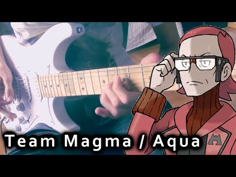 Pokemon ORAS - Team Magma & Aqua Grunt / Leader Battle Metal Guitar Cover