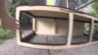 DIY Building an L-shaped Bench Seat for the Hippie Van (part 2)