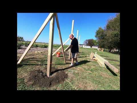 no-more-rotten-posts.-pole-barn-build-part-2