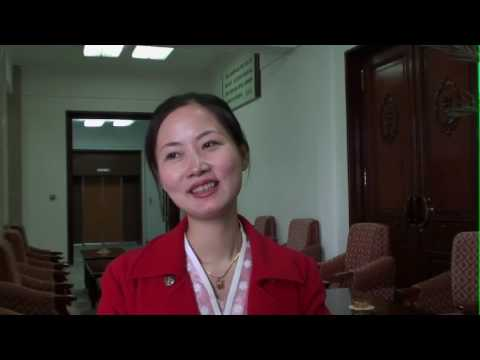 Interview of a north korean guide about her dream travels Pyongyang North Korea
