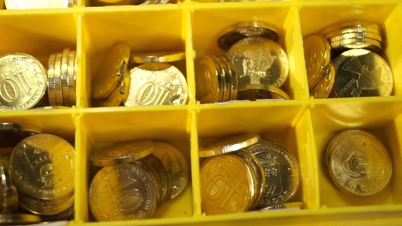блистер для монет украины