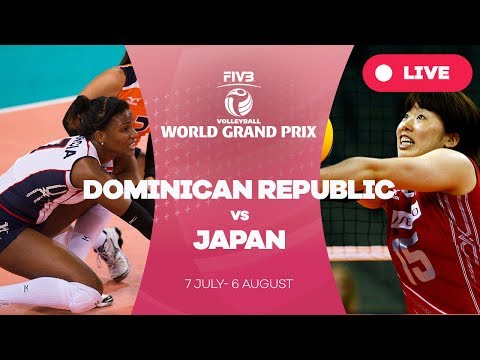 Dominican Republic v Japan - Group 1: 2017 FIVB Volleyball World Grand Prix