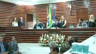 Sessão de diplomação dos eleitos em 2016