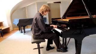 Johann Sebastian Bach - Französische Suite 3 in h (selection) - Jan Dušek (piano)