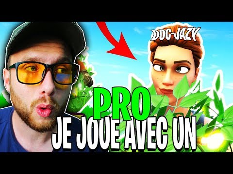 ? ON VA SE FAIRE CARRY PAR UN JOUEUR PRO SUR FORTNITE BATTLE ROYALE !! thumbnail