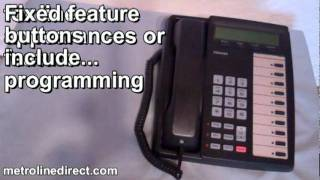 metrolinedirect.com: Toshiba DKT 3010-SD Telephone