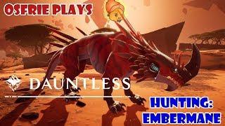 Dauntless [The Savage Flame] Hunting the Embermane (Open Beta Footage)