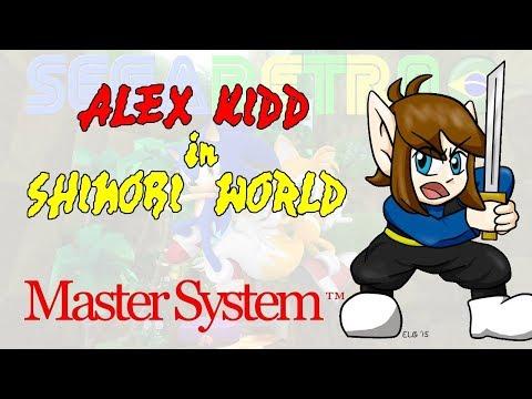 Alex Kidd in Shinobi World - Master System - Review