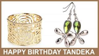 Tandeka   Jewelry & Joyas - Happy Birthday