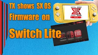 Team Xecutor shows Switch Lite running SX OS - Mod chips in Early 2020