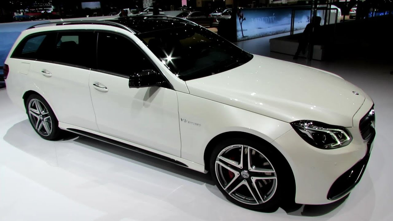 2014 Mercedes Benz E Class E63 Amg S Wagon Exterior And