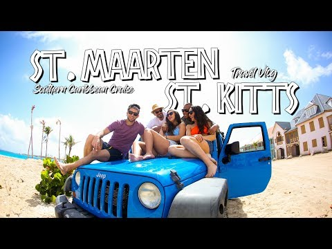 St. Maarten & St. Kitts - TRAVEL VLOG 2018 - Adventure of the Seas Cruise Part 2