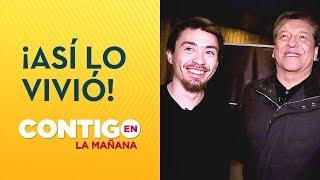 Así vio Nicolás Gavilán el capítulo donde ganó millonario rosco - Contigo en La Mañana