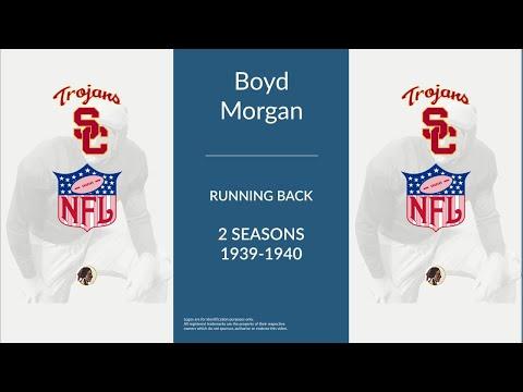 """Boyd """"Red"""" Morgan: Football Running Back"""