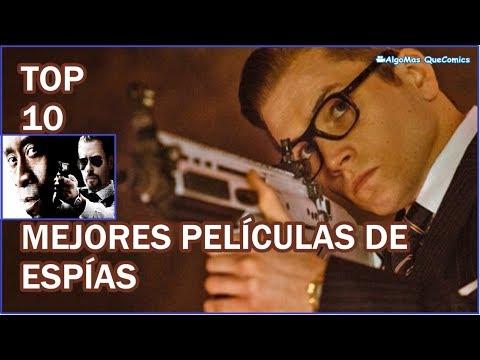 Mejores Películas de Espías, Espionaje | TOP 10