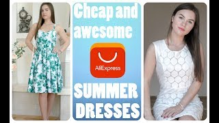 SUMMER HAUL| 3 Dresses from Aliexpress, my review!